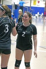 IMG_0536 (SJH Foto) Tags: girls volleyball teen teenager team nook u16s substitution sub rotation