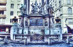 """""""Wedding Fountain"""" on Hoher Markt, Vienna (mmalinov116) Tags: architecture monument austria vienna wedding fountain art vermählungsbrunnen hohen markt hohenmarkt brunnenbecken wien square фонтан монумент"""