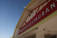 Frontier Restaurant (D. Brigham) Tags: newmexico albuquerque frontierrestaurantrestaurant sign eating food building structure architecture classic