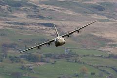 Lockheed C-130J C.4 Hercules I ZH879 I 47 Sqn RAF (MarkYoud) Tags: military transport aircraft low level mach loop wales lfa7 raf brize norton c130j hercules lockheed 47sqn