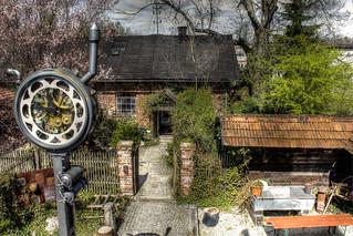 Häuschen trifft auf Steam Punk - Cottage meets steam punk