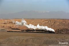 2015/1/2 JS6209 Sandaoling (Pocahontas®) Tags: js6209 steam engine locomotive loco railway railroad rail train xinjiang hami sandaoling kodak ektar100 135film film