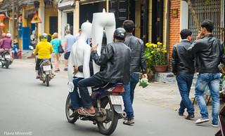 Todo en moto... Vietnam