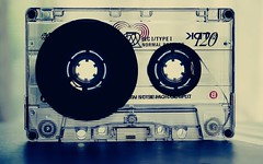 DSC01722-02 (suzyhazelwood) Tags: cassette tape tapes vintage creativecommons sony a6000