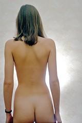 Backside (stillphototheater) Tags: 1999 bareback novosibirsk nude oksana russia stillphototheater topless