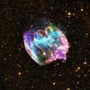 Baby Black Hole and W49B (sjrankin) Tags: w49b 13may2017 nasa edited chandra chandraspacetelescope snr supernovaremnant nebula supernova