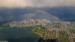 Vancouver Rainbow (david byng) Tags: helijet vancouver spring 2017 city britishcolumbia canada pacificocean flickrtravelaward