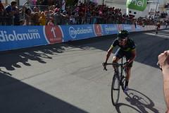 Giro100 a Peschici: Izagirre verso il traguardo (Gianni Molinari) Tags: giro2017 peschici giro100 puglia