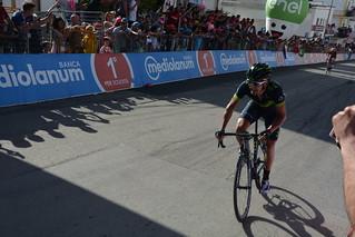 Giro100 a Peschici: Izagirre verso il traguardo
