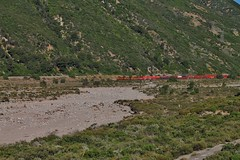 Across The Riverbed (Official$uchainzTV) Tags: bnsf bnsfrailway burlingtonnorthernsantafe intermodal cajonpass cajonsubdivision railfanatlas