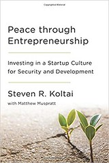 OECD Forum 2017: Meet the author (Organisation for Economic Co-operation and Develop) Tags: book cover oecd forum 2017 kolatai peace entrepreneurship