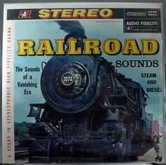 Railroad: Sounds of a Vanishing Era (Funkomaticphototron) Tags: coryfunk record album vinyl cover audiofidelity trains railroad 1958 ambientsounds