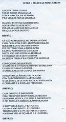 Marcha da Boavista (Arquivo da Memória - Vendas Novas) Tags: 1999 boavista documento déc1990 festas marchaspopulares