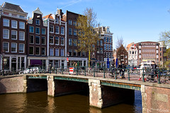 Amsterdam (jeremyvillasis) Tags: amsterdam holland travel architecture prinsengracht canal house bridge europe netherlands