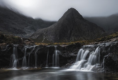 Fairy Pools (Dave Holder) Tags: scotland isleofskye landscape longexposure moody atmospheric