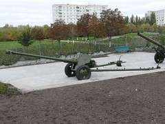 "85 mm divisional gun D-44 1 • <a style=""font-size:0.8em;"" href=""http://www.flickr.com/photos/81723459@N04/34774266356/"" target=""_blank"">View on Flickr</a>"