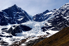 Glacier from Barba Ferrero Refuge (Gianluca Bergamaschi) Tags: valsesia alagna barba ferrero rifugio refuge trekking hiking piemonte ghiacciaio lys glacier