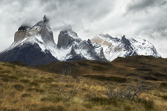 Torres del Paine (debbie_dicarlo) Tags: chile chileanpatagonia patagonia granitepeaks nature mountains cloudy clouds landscapes