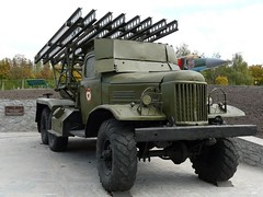 "BM-13 on ZiL-157 8 • <a style=""font-size:0.8em;"" href=""http://www.flickr.com/photos/81723459@N04/35603304345/"" target=""_blank"">View on Flickr</a>"