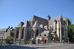 Gante (Bélgica) (littlecastle96) Tags: gante bélgica geografíahumana edificio monumento turismo iglesia church patrimonio heritage building belgium gótico gothic