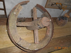 Farming past (ii) (Landstrider1691) Tags: farm machinery farmmachinery antiquefarmequipment oldfarmequipment bygonefarm plough cultivator hayrake hay rake wheel woodenwheel pasttimes old antique