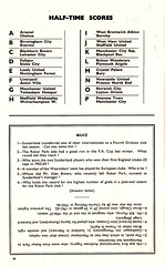 Blackpool vs Sunderland - 1964 - Page 10 (The Sky Strikers) Tags: blackpool football club sunderland league division one bloomfield road official programme 4d