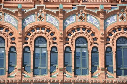 Barcelona. Cosmocaixa Museum (originally a charity house for blind persons). 1904-1909. Josep Domènech i Estapà, architect