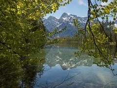 P5060314 (turbok) Tags: almsee bergsee landschaft see spiegelung stimmungen wasser wasserspiegelung c kurt krimberger