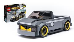 75877 alternate PICK UP (KEEP_ON_BRICKING) Tags: lego speed champions 75877 moc custom alternate remix remake model pickup conceptcar awesome mercedes amg legoset