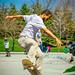 Skateboarding Ashbridges