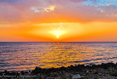 Dream (Francesco Impellizzeri) Tags: trapani sicilia sunset clouds water reflections
