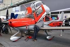 N477EU - 2017 build Cirrus SR22T Carbon, displayed at Friedrichshafen during Aero 2017 (egcc) Tags: 1477 aero aerofriedrichshafen aerofriedrichshafen2017 bodensee carbon cirrus cirrusdesign edny fdh friedrichshafen lightroom n477eu sr22t
