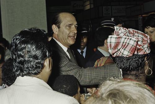 Mr JACQUES CHIRAC au SIA 1990-44-cliche Jean Weber