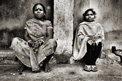 Women in Kolkata, India (paola ambrosecchia) Tags: women portrait asia ngc kolkata india street blackandwhite bnw beautiful amazing light streetphotography people