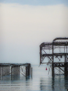 the pier remains