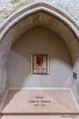 DSC6748 Tumba de Blanca I de Navarra en el Altar Mayor de la Iglesia del Monasterio de Santa María la Real de Nieva, (Segovia) (Ramón Muñoz - ARTE) Tags: monasterio de santa maría la real nieva reina blanca navarra