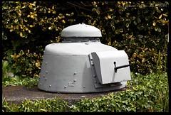 Tank Turret Fortification (zweiblumen) Tags: tank turret fortification germanoccupationmuseum forest guernsey bailiwickofguernsey channelislands canoneos50d canonef50mmf14usm polariser zweiblumen