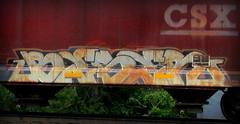 beser (timetomakethepasta) Tags: beser freight train graffiti art grainer csx benching selkirk new york photography style