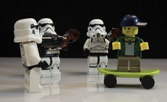 Freeze! (E83 Photography) Tags: funny comic comedy starwars stormtroopers