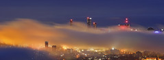 Foggy Morning (Fear_Through_The_Eyes) Tags: brisbane queensland australia morning landscape city lookout colour