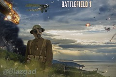 Battlefield 1 (Matte painting) (Blazgad) Tags: mattepainting