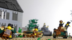 Battle of France : overrun (Rebla) Tags: lego ww2 wwii world war ii 2 rebla france battle overrun
