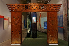 Ekspozycja dot. kultury Maori | The Cultural Diversity of New Zealand Excibition