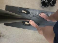 IMG-20170425-WA0000 (timmüller2) Tags: sweaty footprints pole climbing stinky feet