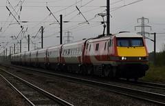 91116 (markkirk85) Tags: peterborough train trains east coast mainline class 91 intercity 225