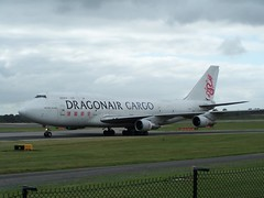 B-KAC (IndiaEcho) Tags: bkac dragonair cargo freight boeing 747300 manchester international airport airfield egcc man civil aircraft aeroplane aviation airliner cheshire england