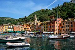 Portofino (Italie) (jjcordier) Tags: portofino ligurie italie paysage port mer façade