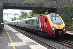 221106 and 221118 @ Hampton-in-Arden (ianjpoole) Tags: virgin trains 221106 willem barents 221118 working 9j17 london euston shrewsbury birmingham new street