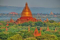 Bagan, Pagodas (gerard eder) Tags: world travel reise viajes asia southeastasia southeast myanmar burma birmania birma bagan ballooning sunrise mandalay mandalaydivision pagodas temples outdoor