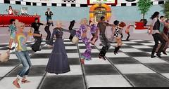 ACT Sensational Sixties Dance-along (Osiris LeShelle) Tags: secondlife second life avilion heart act cameo theatre avilioncameotheatre dance along dancealong sixties sensational dancing show music
